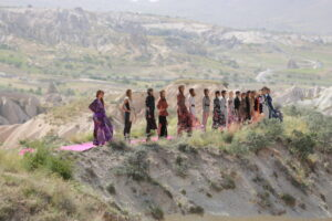 Kapadokya'da muhteşem defile - Magazinbox - Magazin Haberleri - Son Dakika Magazin